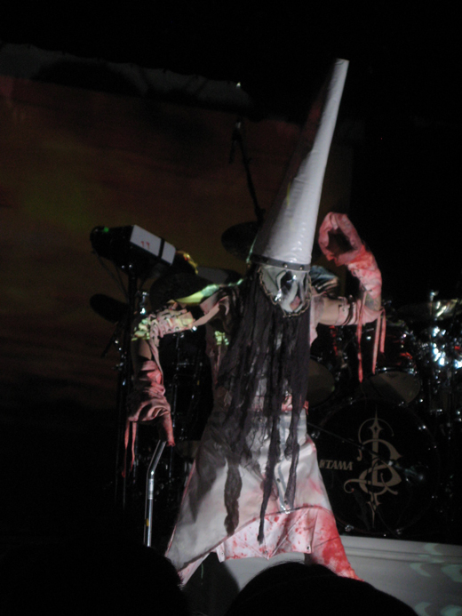 The bizarre performance-art/industrial music project called Skinny Puppy, ...