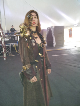 female steampunk