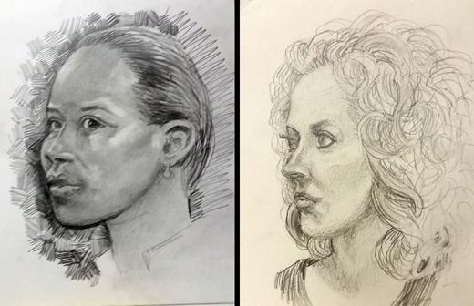 2 women