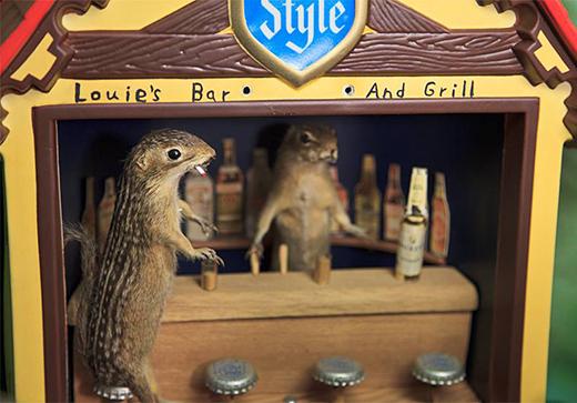 anthropomorphic squirrels